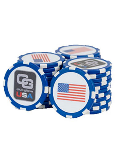 Ball Marker Poker Chips