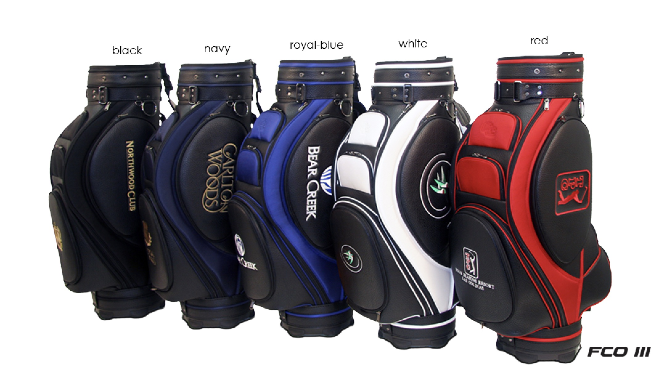 examples of corporate branded golf bags