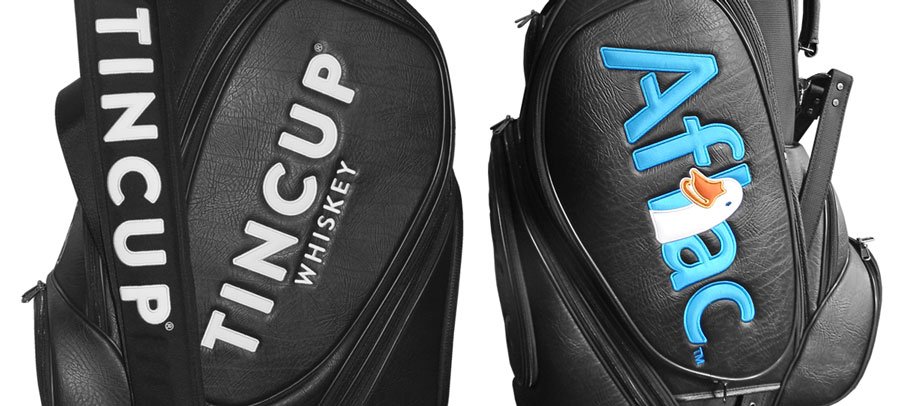 Corporate branded golf bags