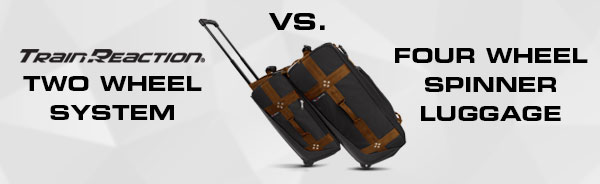 Compare rolling vs spinner luggage