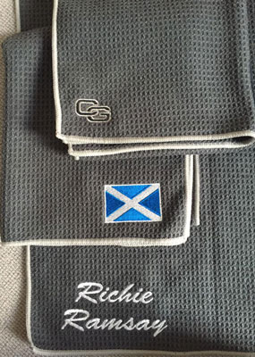 Richie Ramsay loves his Club Glove Microfiber golf Towel