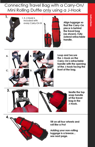 Connecting A Golf Travel Bag