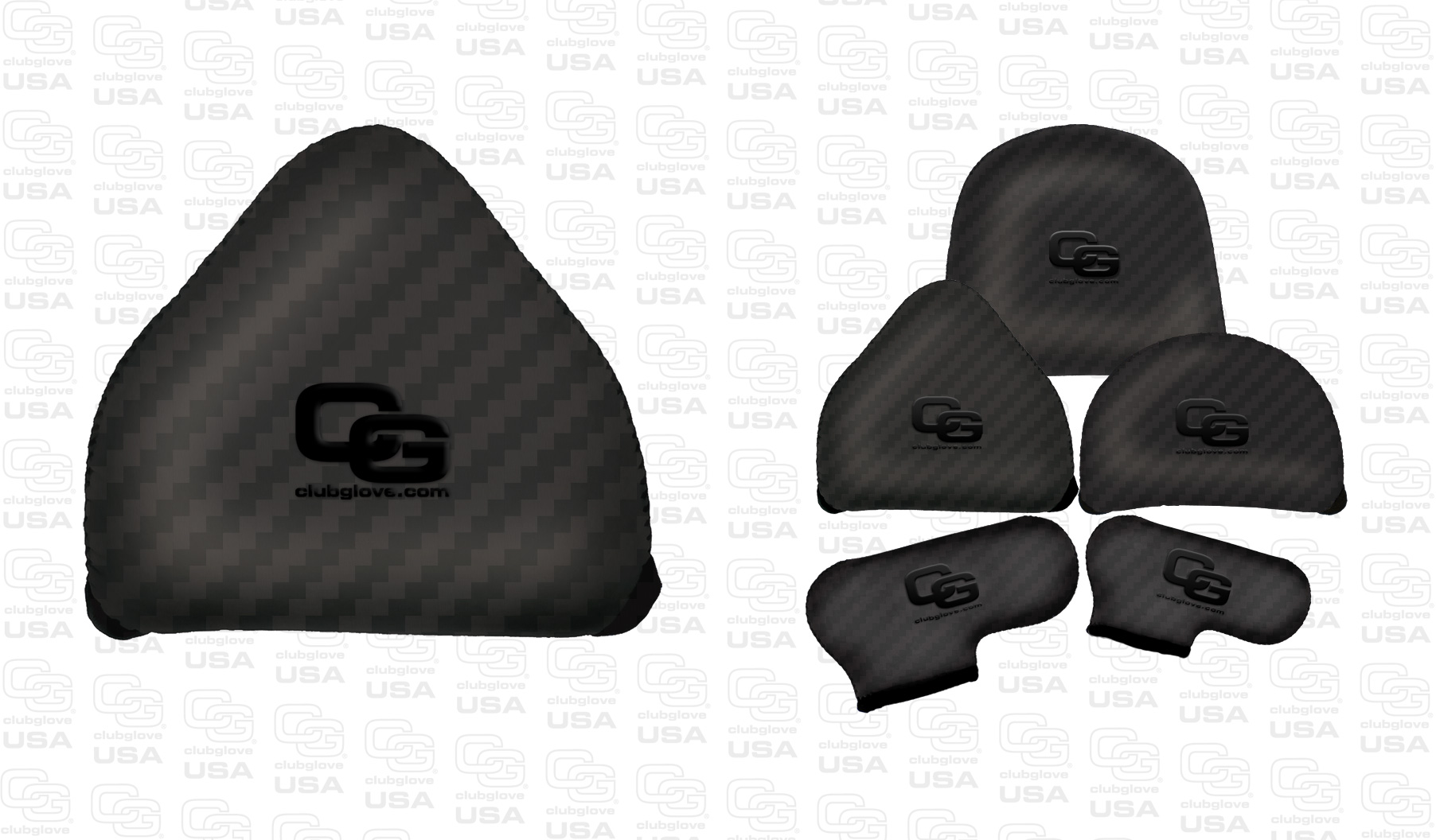 Gloveskin Premium 2-Ball Putter Covers