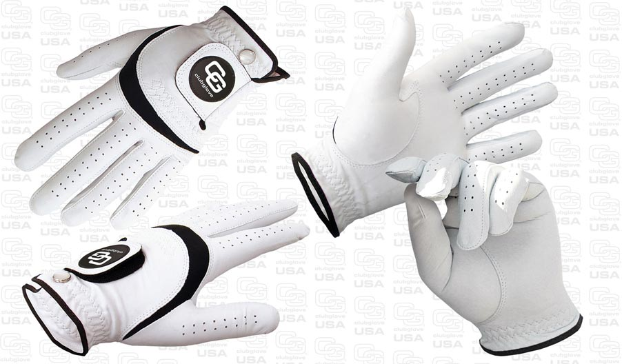 2 Cabretta Golf Gloves