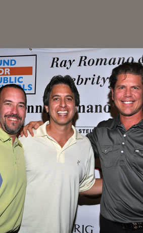 Jim, Ray Romano and Jeff